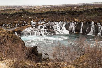 waterval in ijsland von Compuinfoto .