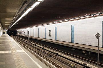 Metrostation Marconiplein van Peter Dane