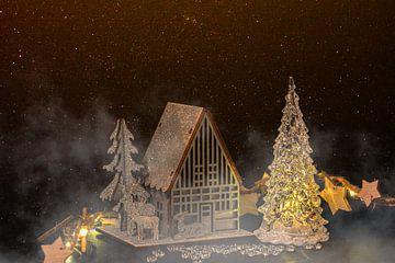 Concept Kerstmis: kerstmagie van Michael Nägele