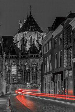Red Lines Dordrecht (Grotekerksbuurt) von John Ouwens
