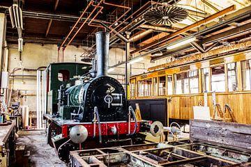 Oud treinstation. von Vincent Snoek