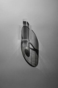 minimalistische zwart/wit foto van Anneloes van Dijk