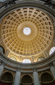 Plafond au Vatican. sur Danny Leij