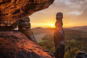 Sonnenaufgang an der Barbarine von Sergej Nickel