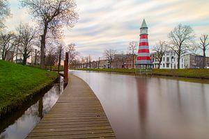 Singel Breda vanaf Valkenbergpark van Tom Hengst