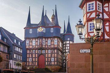 Historisches Rathaus in Frankenberg von Christian Müringer