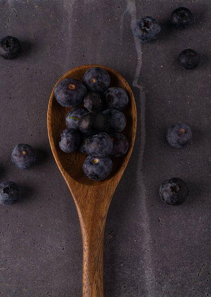 Blauwe bessen van simone swart