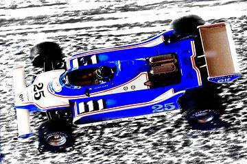 Ligier JS11 driven by Jacky Ickx van Jean-Louis Glineur alias DeVerviers