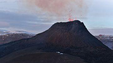 Vulkanausbruch in Geldingadalir von Timon Schneider