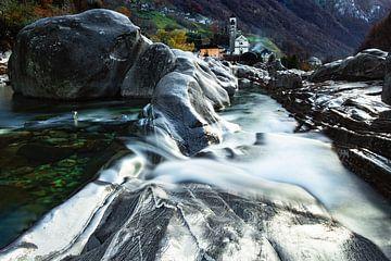 Lavertezzo - Ticino - Zwitserland van Felina Photography