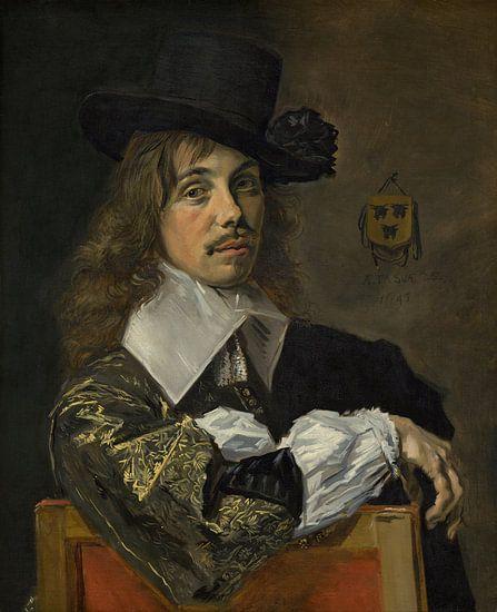 Frans Hals. Willem Coenraetsz Coymans 1645 van 1000 Schilderijen