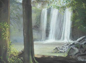 Waterval sur Mandy Hogervorst