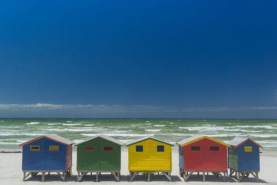 Strandhuisjes van Katrin Engl