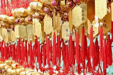 Gebedsteksten in China van Ingrid Meuleman