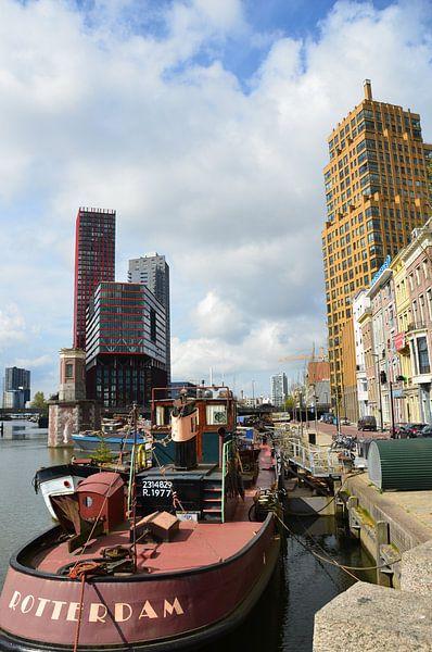 Rotterdam oud en nieuw van Marcel van Duinen