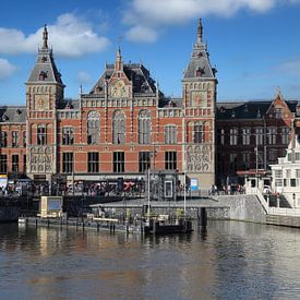 Centraal Station in Amsterdam van Jan Kranendonk