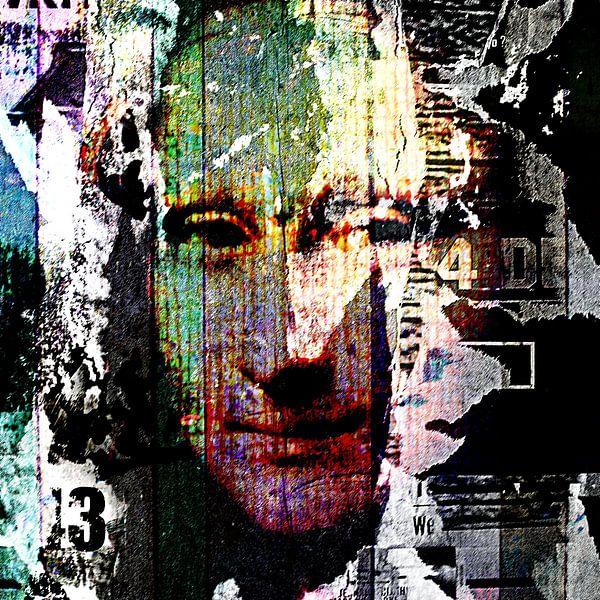 What was behind the Mona Lisa von PictureWork - Digital artist