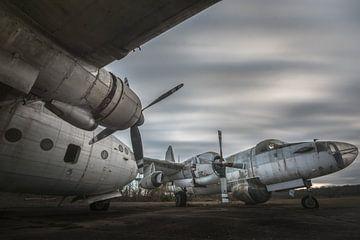 Oude vliegtuigen van Perry Wiertz