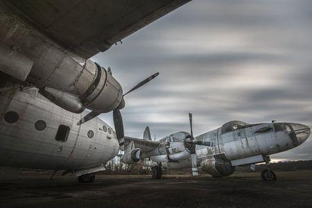 Alte Flugzeuge aus dem Krieg