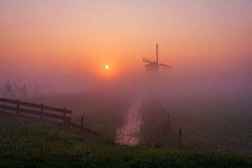 Windmolen de Bosmolen van Henry Oude Egberink