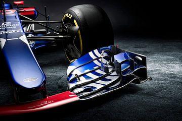 F1 Formule 1 Toro Rosso STR12 2017 Carlos Sainz jr. van Thomas Boudewijn