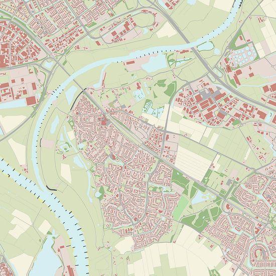 Kaart vanWestervoort