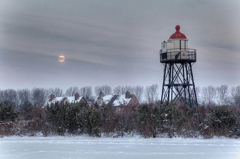 Vuurtoren uitkijktoren Hoek van Holland van PAM fotostudio