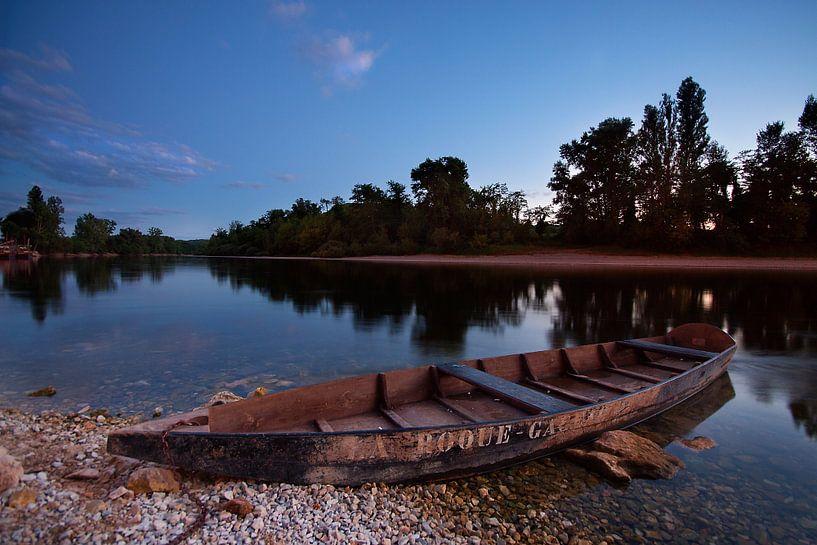 Boot langs de Dordogne van Peter Halma