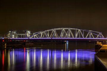 Oude brug van Zutphen van Wim van der Wind