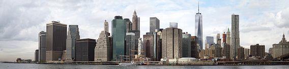 Skyline New York van Jolanda van Eek