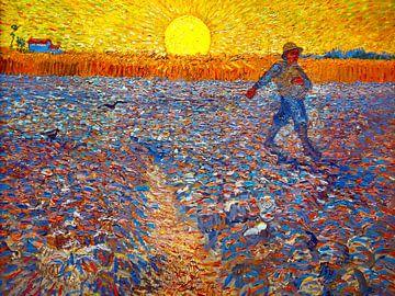 Der Sämann - Vincent van Gogh - 1888 von Jan Willem van Doesburg