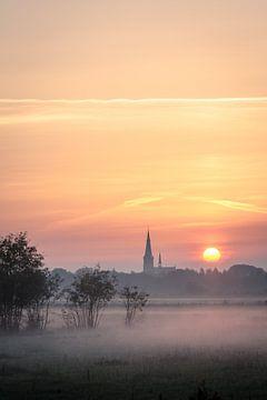 Breda, Haagse Beemden zonsopkomst van Andre Gerbens