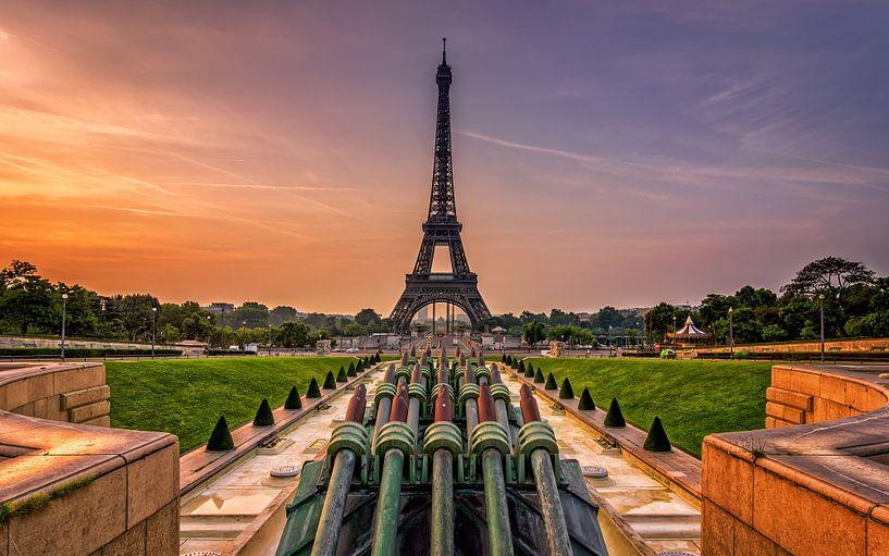 Eiffeltoren Parijs van Michiel Buijse