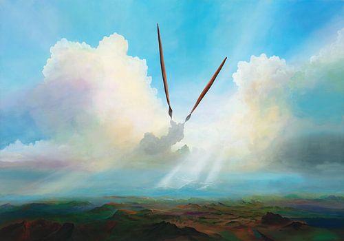 Gemälde van Silvian Sternhagel