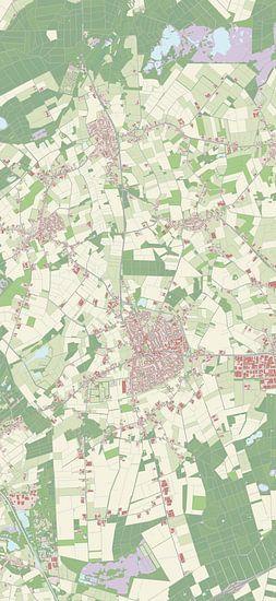 Kaart vanReusel-De Mierden van Rebel Ontwerp