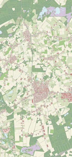 Kaart vanReusel-De Mierden