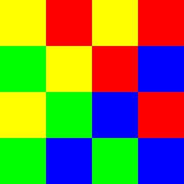 4x4 in 16 | ID=04 | V=17 | P #01 van Gerhard Haberern