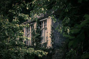 verlassenes Haus in Malmedy von Bert-Jan de Wagenaar