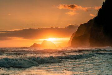 Sonnenaufgang Hawaii Tal von road to aloha