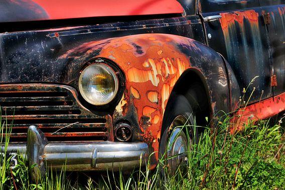 Peugeot203 van Yvonne Blokland
