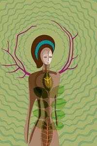 Naturgöttin von Siegfried Gwosdz