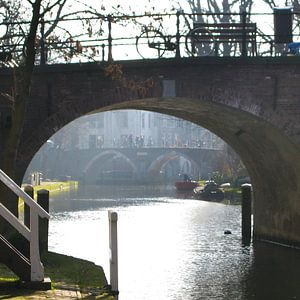 Onder de Geertebrug Utrecht