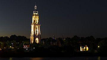 Cunerakerk 's avonds, Rhenen van