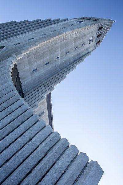 De kerk van Rekjavik IJsland van Eric van Nieuwland