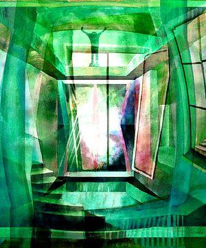 Das Hallen Bad von Gertrud Scheffler