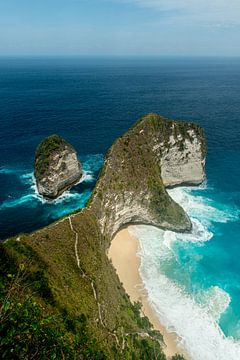 Paradijs Nusa Penida, Kelingking Beach van Ellis Peeters