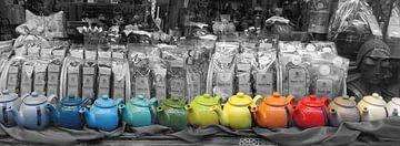 Kies jouw  'cup of tea' in een theewinkel in Maastricht, Netherlands van Nicole Erens