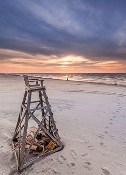 Strandwachtstoel sur Martijn van Dellen
