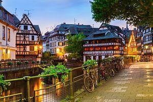 Petite France à Strasbourg le soir sur Jan Schuler