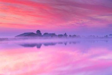 Une belle matinée au bord de l'eau. sur Eelco de Jong